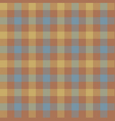brown beige check tablecloth seamless pattern vector image vector image