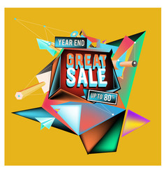 Abstract 3d great sale up to 80 discount vector