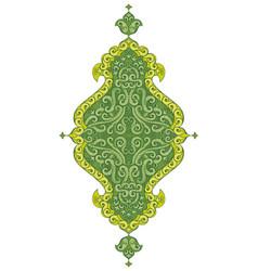 Asian ornamental element vector