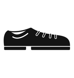 bowling shoes icon simple style vector image