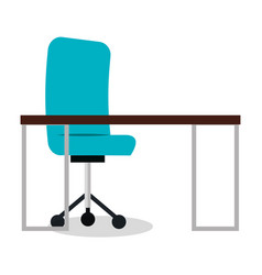 business office workplace icon vector image
