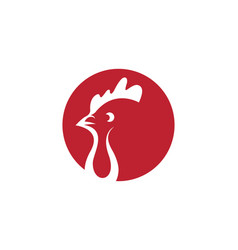 chicken icon design vector image