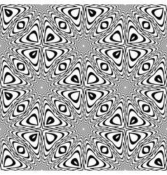 Design seamless monochrome speckled background vector image