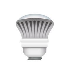 light bulb electric halogen vector image