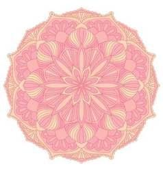 Mandala Oriental decorative elementIslam Arabic vector