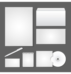 Office supply set design vector