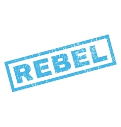 Rebel Rubber Stamp vector