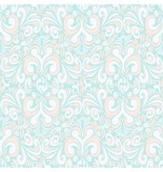 Seamless vintage pastel blue background vector
