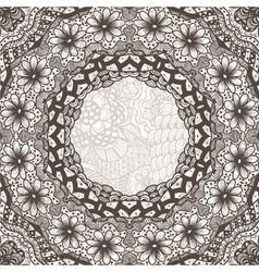 ethnic vintage ornament background vector image vector image