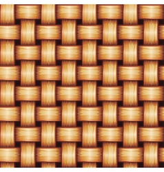 Seamless Wicker Texture vector image