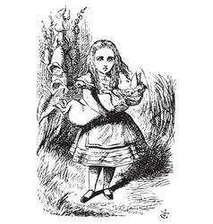 Alice adventures vector