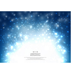 abstract of blue christmas background with vector image
