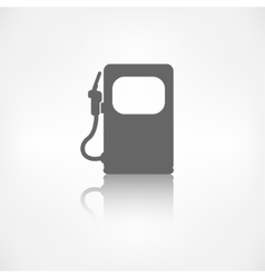 Gas fuel station icon vector