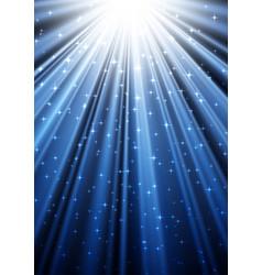 glittering rays in the dark vector image