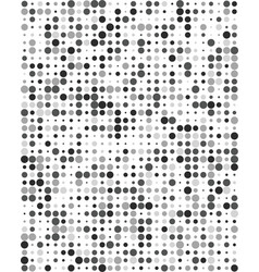 Pattern with gray dots vector