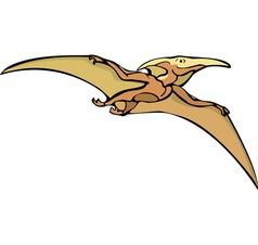 Pterosaur dinosaur vector