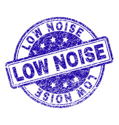 Scratched textured low noise stamp seal vector