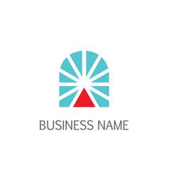 shine window company logo vector image
