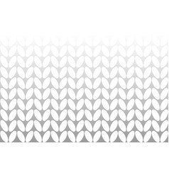 White background knitting vector
