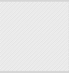 white fabric seamless pattern background vector image