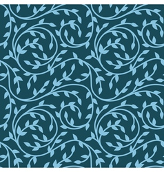abstract floral seamless pattern vector image vector image