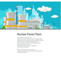 electric power transmission from a power station vector image vector image