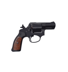 Image of a handgun on a white background vector image