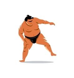 Sumo Cartoon vector image