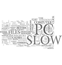 A slow pc better a slow boat to china text word vector