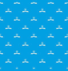 brilliant pattern seamless blue vector image