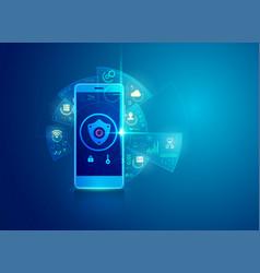 cybersecurity vector image