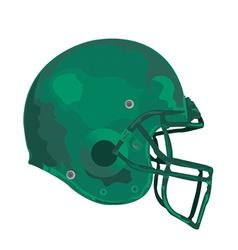 Gridiron helmet vector