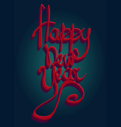 Happy new Year Universal greeting card for holiday vector