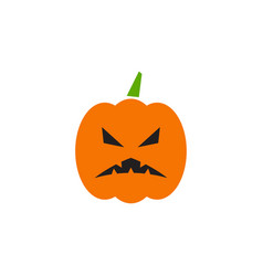jack lantern graphic design template isolated vector image