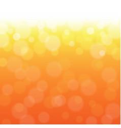Orange bokeh vector