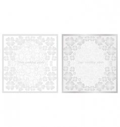 wedding pink frame vector image