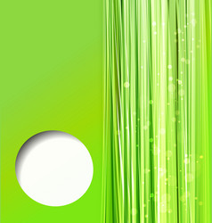 abstract colorful green background vector image vector image