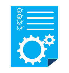 project management sign project management icon vector image