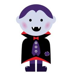 Vampire boy vector image vector image