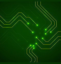 abstract technology circuit board vector image
