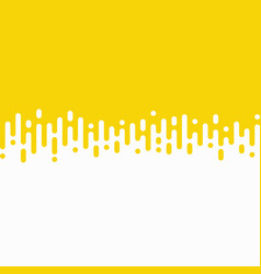 abstract yellow stripe line wavy pattern vector image
