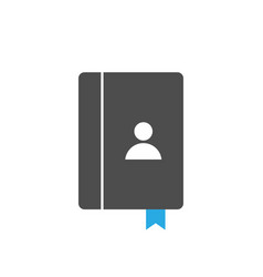 Book icon design template isolated vector