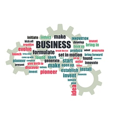 Business related words vector