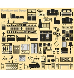 Furniture and Decor vector