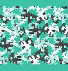 geometric seamless pattern design chaos vector image