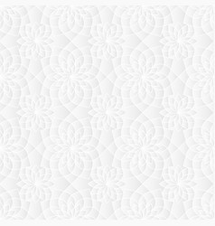 Neutral white sacred geometry texture vector