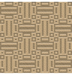 Ornate leather seamless pattern vector