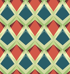 vintage mosaic seamless pattern vector image