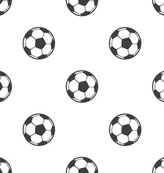 ball seamless pattern vector image vector image