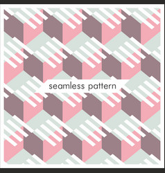 seamless geometrical patterns abstract fashion vector image
